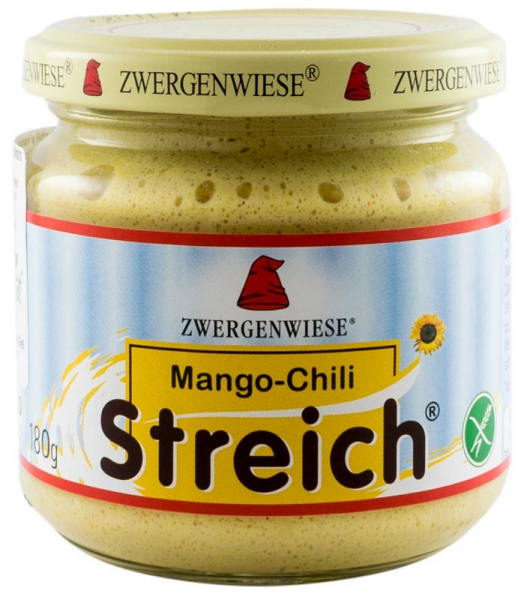 Crema tartinabila BIO vegetala cu chili si mango, 180 g ZWERGENWIESE 0