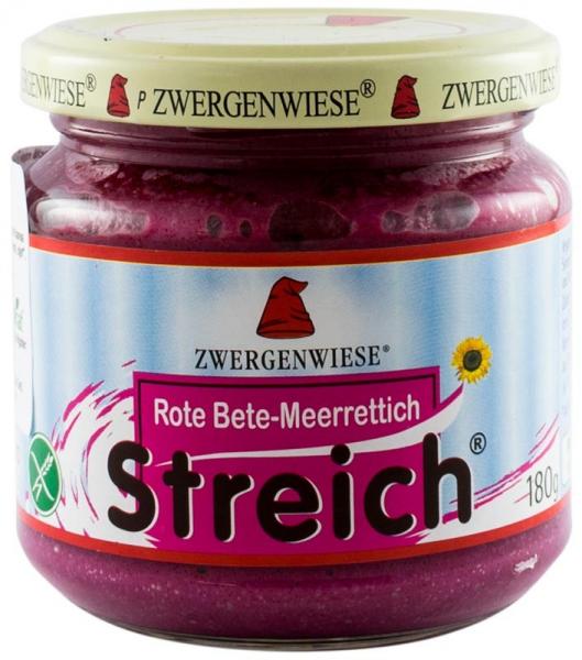 Crema tartinabila BIO vegetala cu sfecla rosie si hrean, 180 g ZWERGENWIESE [0]