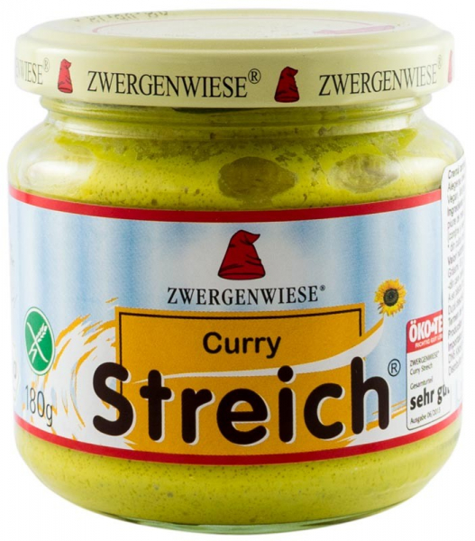 Crema tartinabila BIO vegetala  Curry, 180 g ZWERGENWIESE 0