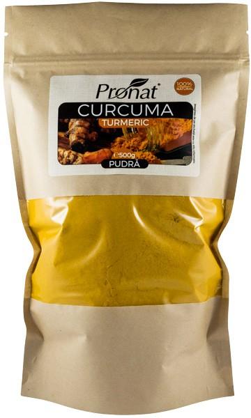 Curcuma pudra, 500 g 0