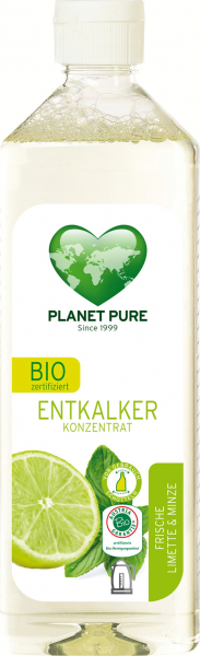 Detartrant bio - lime si menta - 510ml Planet Pure 0