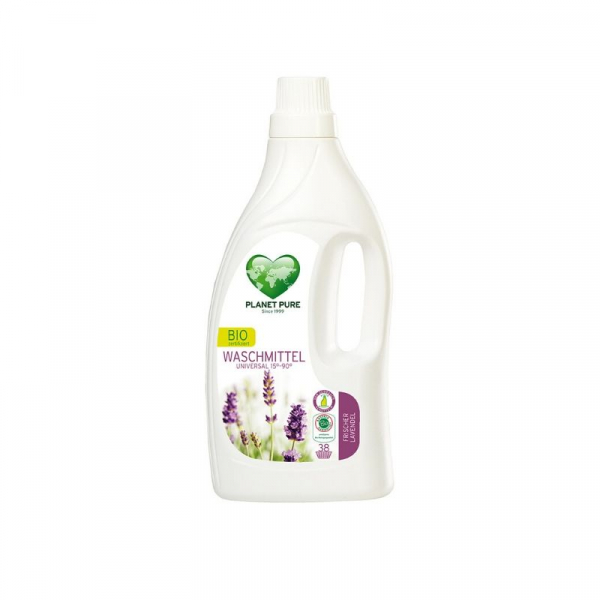 Detergent bio de rufe - lavanda - 1.55L Planet Pure 0