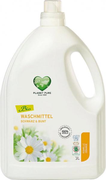 Detergent bio de rufe negre si colorate- musetel si portocale - 3 litri Planet Pure 0