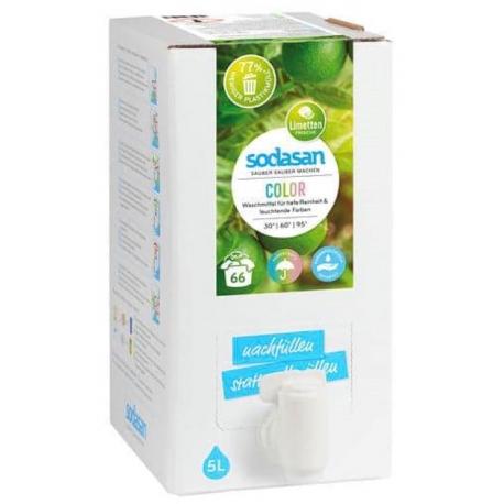 Detergent bio lichid pentru rufe albe si colorate Lime 5L 0