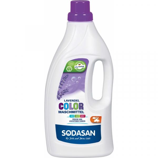 Detergent Bio Lichid Rufe Albe si Color Lavanda 1,5 L 0