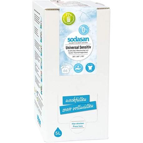 Detergent Bio Lichid Rufe Universal Sensitiv Hipoalergen 5 L 0