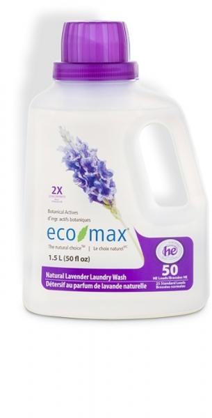 Detergent concentrat rufe cu lavanda, 1.5 L (50 spalari) 0