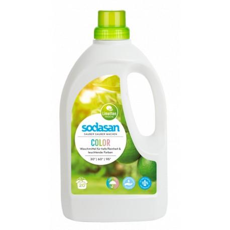 Detergent ecologic lichid pentru rufe albe si colorate Lime 1.5L [0]