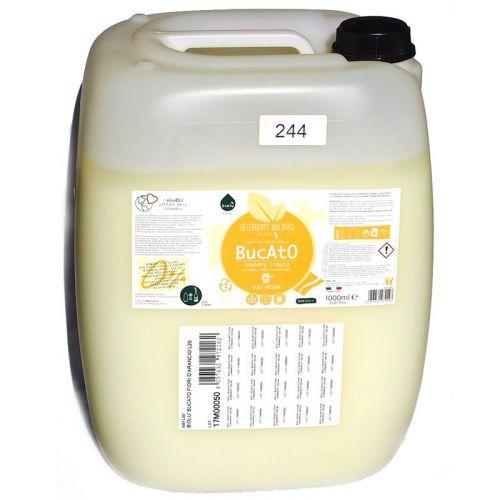 Detergent ecologic lichid pentru rufe albe si colorate portocale 20L 0