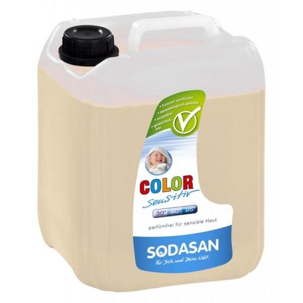Detergent ecologic lichid pentru rufe albe si colorate sensitiv 5L 0