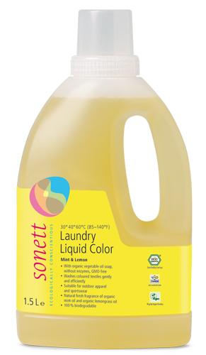 Detergent ecologic lichid pentru rufe colorate 1.5L 0