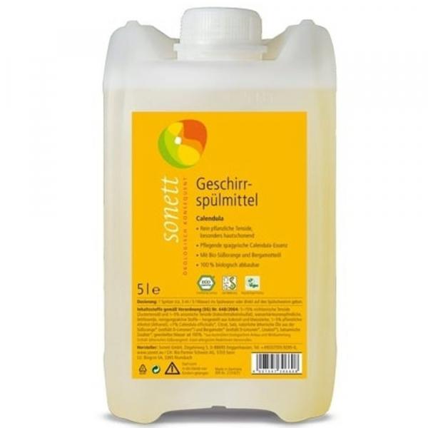 Detergent ecologic pentru spalat vase - galbenele,  5L 0