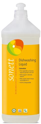 Detergent ecologic pentru spalat vase - galbenele, 1L [0]