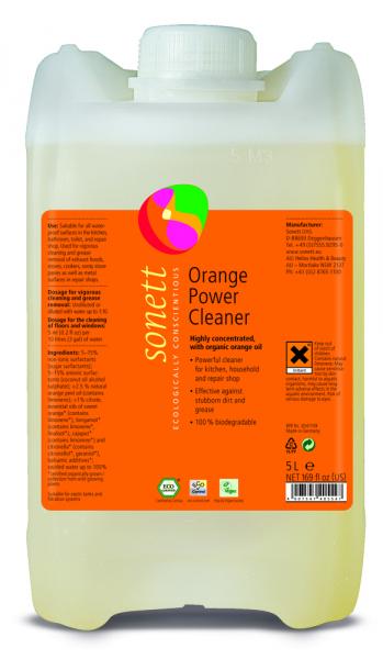 Detergent ecologic universal concentrat cu ulei de portocale 5L Sonett 0