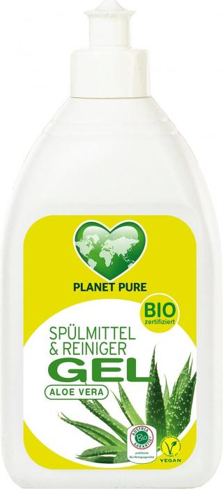 Detergent GEL bio de vase  - aloe vera - 500ml Planet Pure [0]
