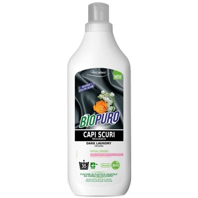 Detergent hipoalergen pentru rufe negre/inchise la culoare bio 1000ml [0]