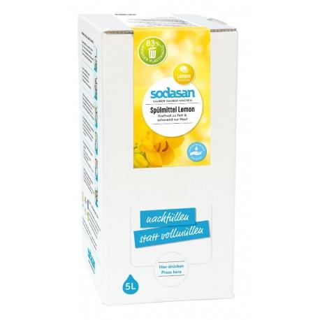 Detergent lichid ecologic pentru vase cu lamaie 5L [0]