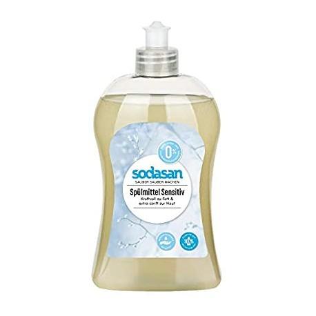 Detergent lichid ecologic pentru vase sensitiv 500ml 0