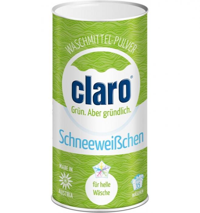 """Detergent pulbere ecologica  """"ALBA CA ZAPADA"""", pentru haine deschise la culoare, 1 KG CLARO 0"""
