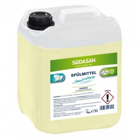 Detergent Vase Lichid Bio Sensitiv 5 L Sodasan 0