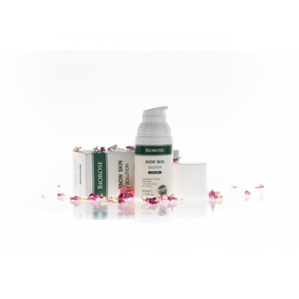 Elixir Snow Skin, pentru piele radianta, cu extract liofilizat de macese, Biorose, 30 ml 0