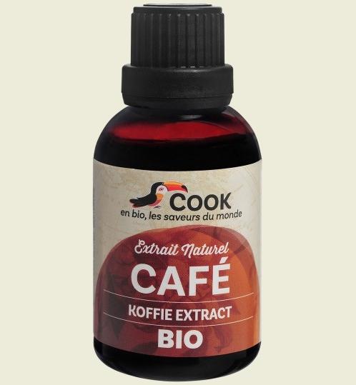 Extract (esenta) de cafea bio 50ml Cook 0