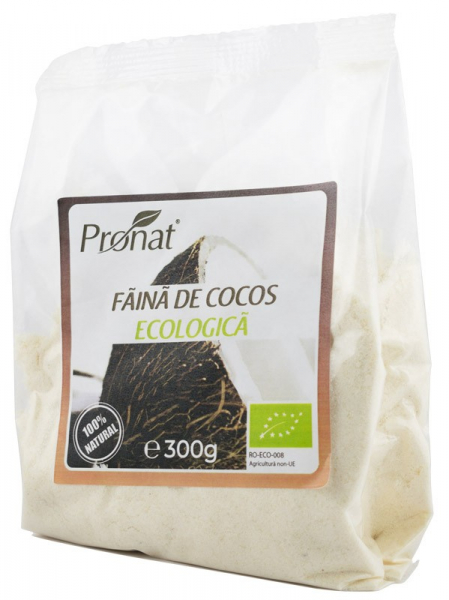 FAINA BIO DIN NUCA DE COCOS, 300 G 0