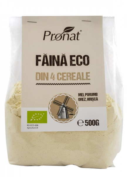 Faina BIO din patru cereale natural fara gluten, 500g 0
