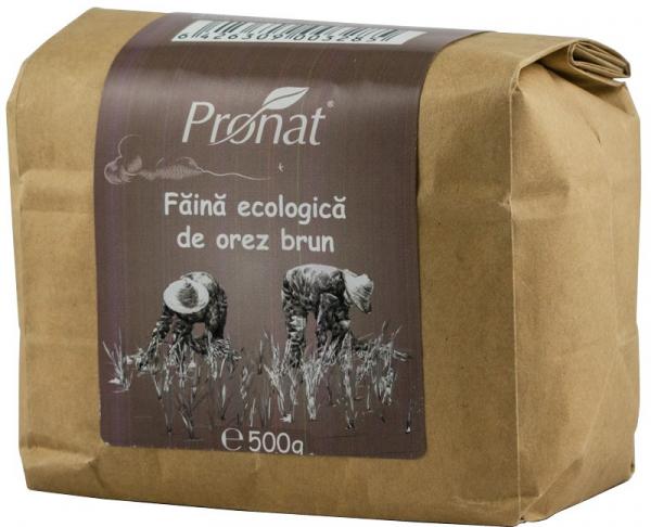 Faina de orez brun Bio, 500 g 0