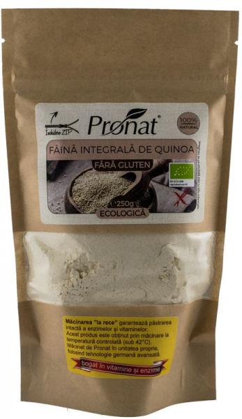 Faina integrala BIO de Quinoa, 250g 0