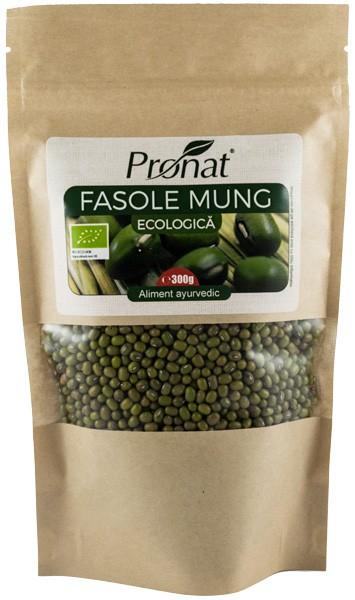 Fasole Mung Bio, 300 g 0