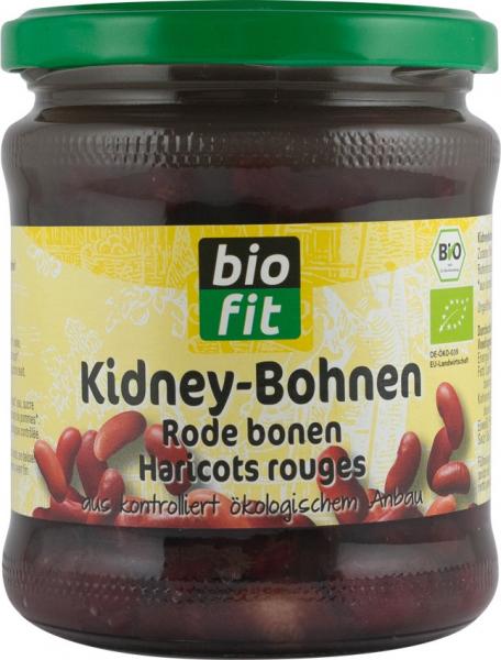 Fasole rosie BIO, red kidney, 330gr Bio Fit 0