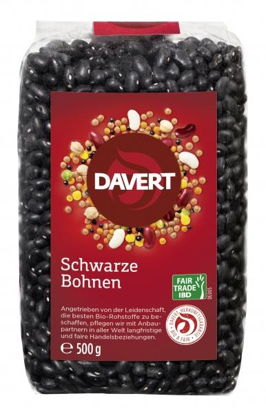 Fasole neagra bio, Fairtrade, 500g DAVERT [0]