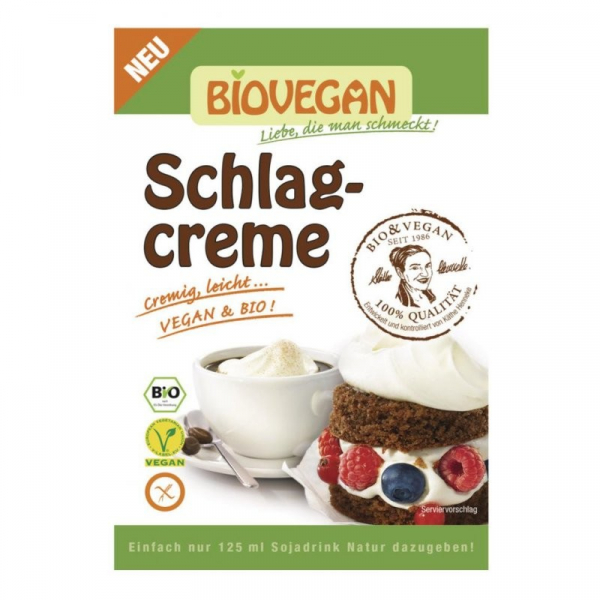 Frisca vegetala fara gluten! Bio, 54 g Biovegan [0]
