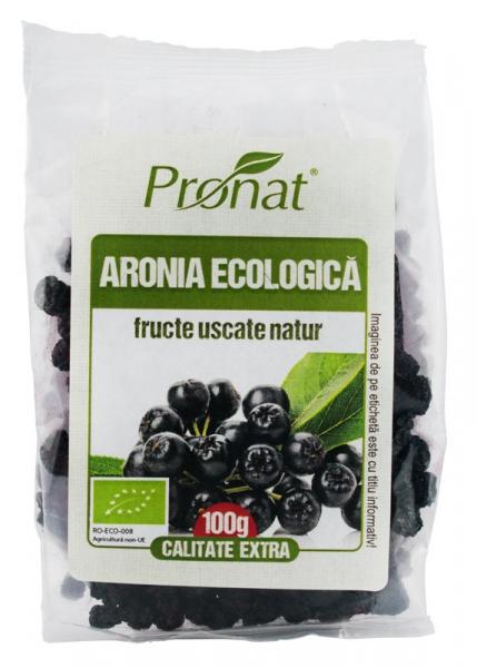Fructe Bio de aronia uscate, 100 gr [0]