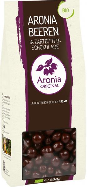 Fructe de Aronia BIO glazurate cu ciocolata, 200 g Aronia Original 0