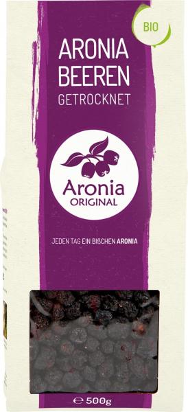 Fructe de Aronia BIO uscate, 500 g Aronia Original 0