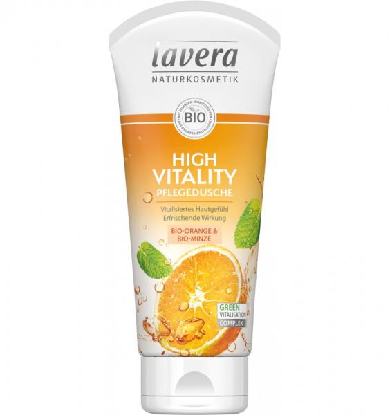 Gel de dus bio – High vitality, 200ml, Lavera 0