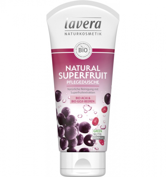 Gel de dus bio  – natural superfruit  200ml Lavera [0]