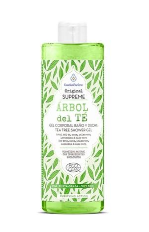 Gel de dus cu arbore de ceai, 500 ml, Esential'arôms 0