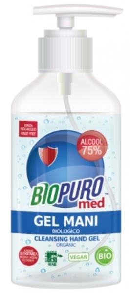 Gel igienizant pentru maini bio 250ml Biopuro cu 75% alcool [0]