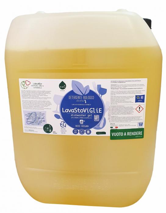 Gel ecologic pentru spalat vase in masina de spalat vase, vrac  20L Biolu 0