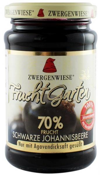 Gem BIO de coacaze negre indulcit cu sirop de agave, 225 g ZWERGENWIESE 0