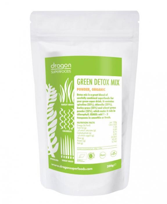 Green Mix raw bio 200g 0