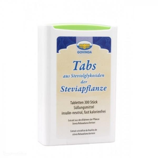 Indulcitor Stevia tablete 300 buc. GOVINDA 0