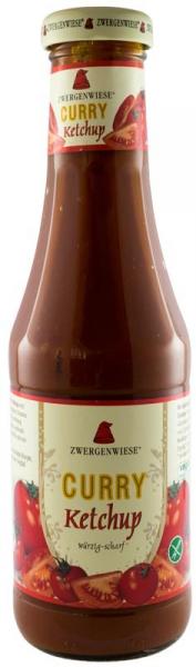 Ketchup BIO curry, din piure de rosii, 500 ml ZWERGENWIESE [0]