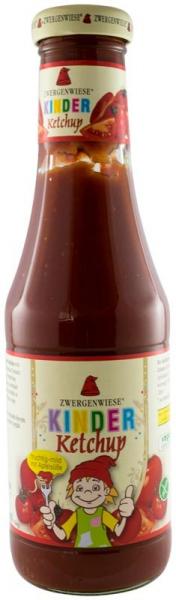 Ketchup BIO pentru copii, din piure de rosii cu mere, 500 ml ZWERGENWIESE 0