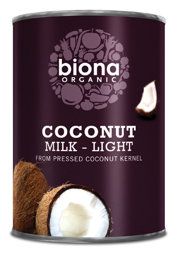 Lapte de cocos light bio 400ml 0