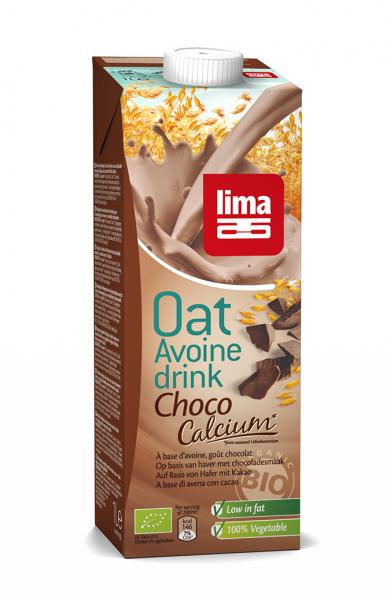 Lapte de ovaz cu ciocolata si calciu bio 1L 0