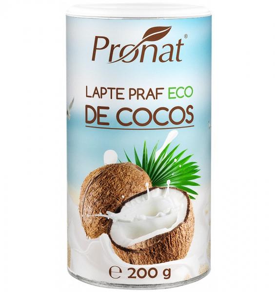 Lapte praf BIO de cocos, 200 g 0
